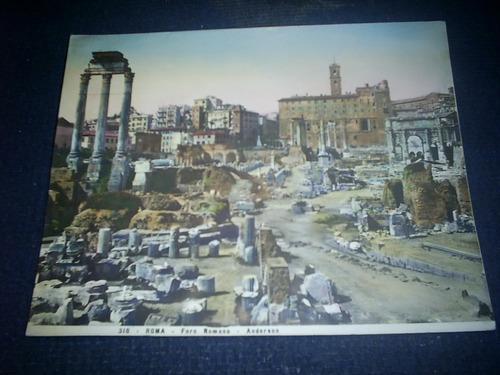 foro romano, antiguas fotos