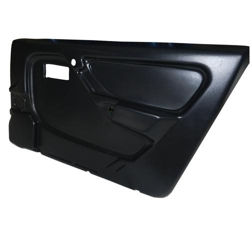 forração forro porta revestimento monza 91/95 4 pt preto
