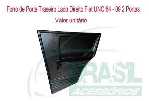 forração forro porta uno 2 portas traseiro direito 84 - 09