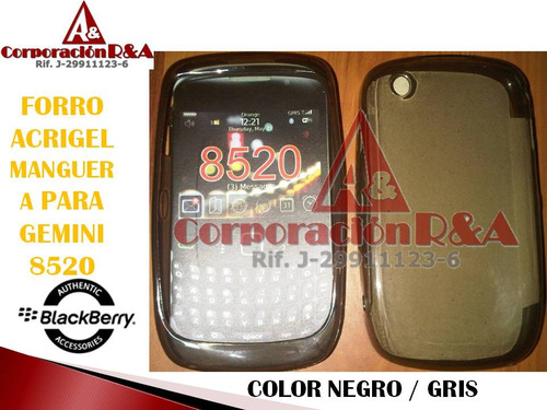 forro acrigel blackberry gemini 8520 8530 9300 3g mayor