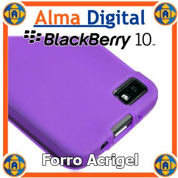 forro acrigel blackberry z10 estuche protector manguera