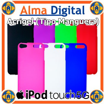 forro acrigel ipod touch 5g protector gel tipo manguera 5