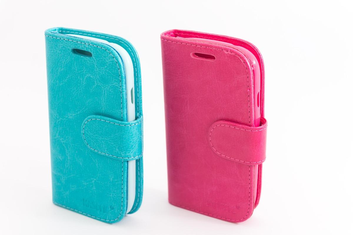 359161525a6 Forro Agenda Unicolor Samsung Galaxy S3 Mini - Bs. 30.000,00 en ...
