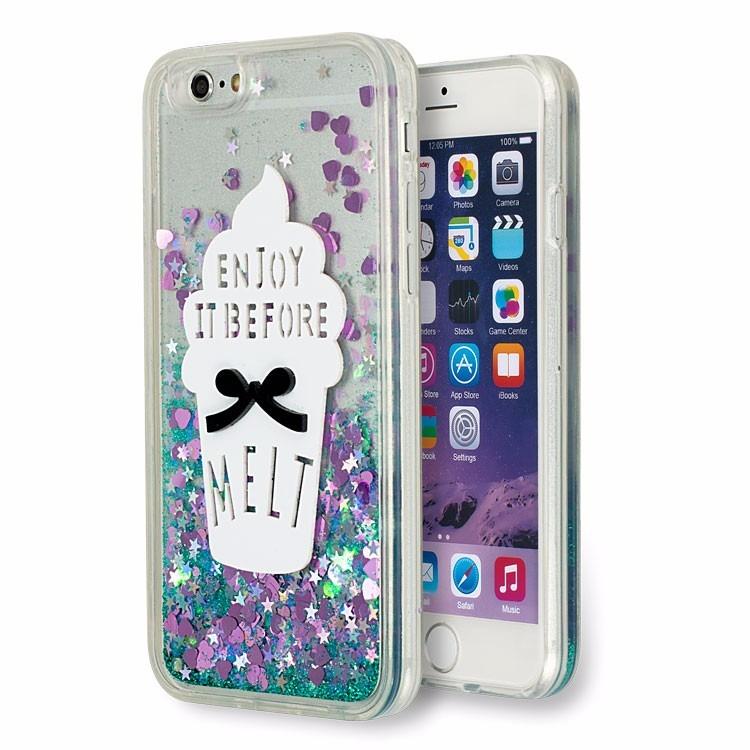 0b383d2cc2a Forro Agua Escarchado Melt iPhone 5 / 5s / Se - Bs. 489,00 en ...