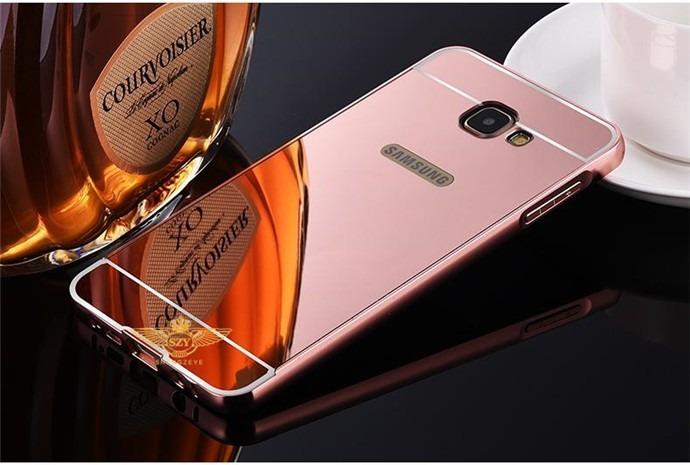 Forro Espejo Lujo Aluminio Samsung J2 Prime J5 Prime J7