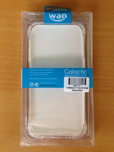 forro antigolpe samsung s7 edge transparent kingpc2,4 tienda