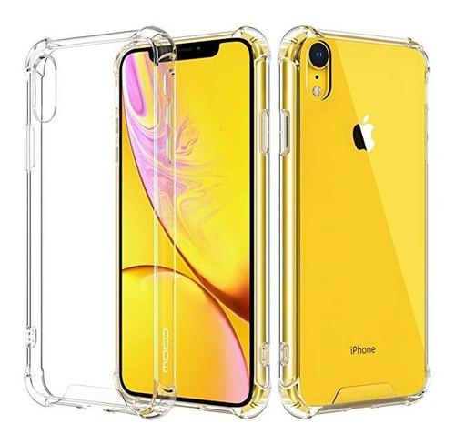forro antigolpe transparente slim iphone x xs max xr 7 8 +