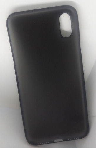 forro apple iphone x ultra-thin slim matte frosted