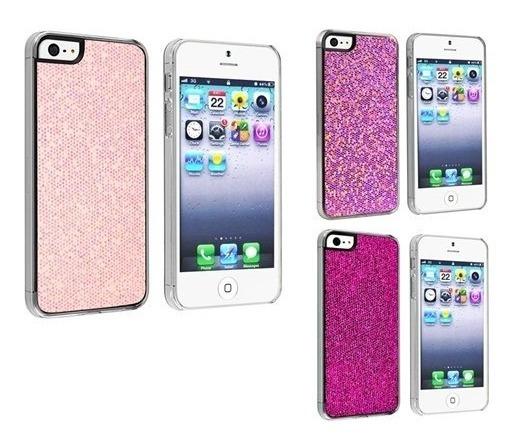 6326aceab11 Forro Bling Glitter Pra iPhone 5, 5s Y Se - Bs. 45.000,00 en Mercado ...