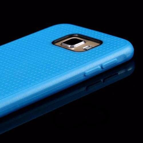 forro carcasa flexible samsung galaxy s6 g9200 azul
