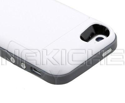 dd70eb3c6e5 Forro Cargador Para iPhone 5 5s 2500 Mah Bateria Externa - Bs. 4.999 ...