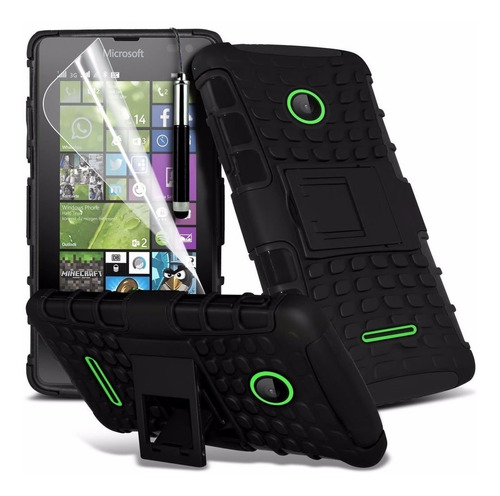 forro case antichoque microsoft nokia lumia 435 535 armadura