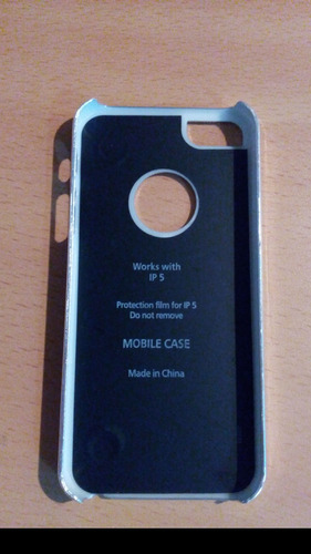 forro case iphone 5 mas protector de pantalla