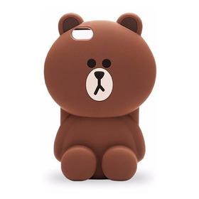 Forro Case Oso iPhone 5 / 6 / 7 / 6 Plus / 7 Plus