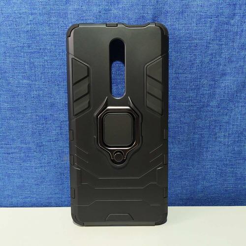 forro case xiaomi redmi note 7 + vidrio templado full cover