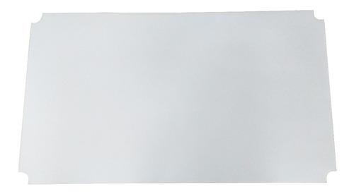 forro chapa plástica flexível gavetas prateleiras 60x35cm