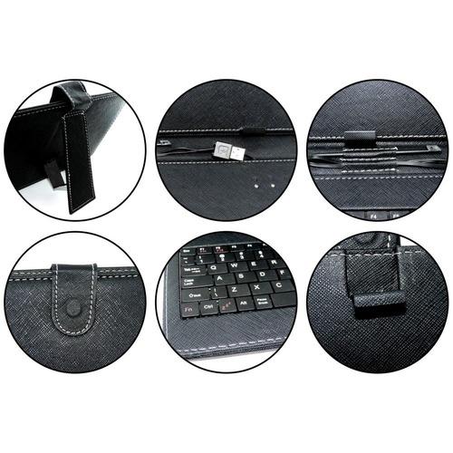 forro con teclado 10  tablet usb