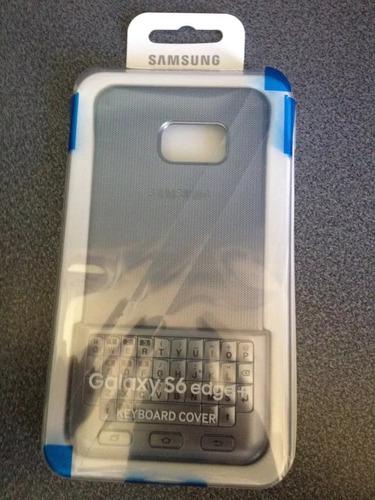 forro con teclado galaxy s6 edge y keyboard cover
