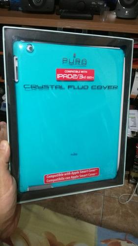 forro cover ipad 2/3 gen marca puro azul y fuccia