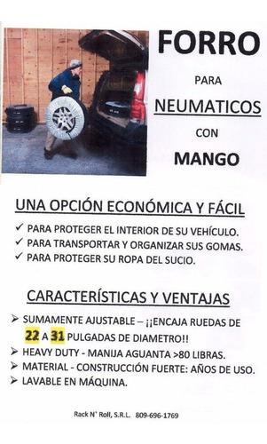 forro / cover para goma con mango