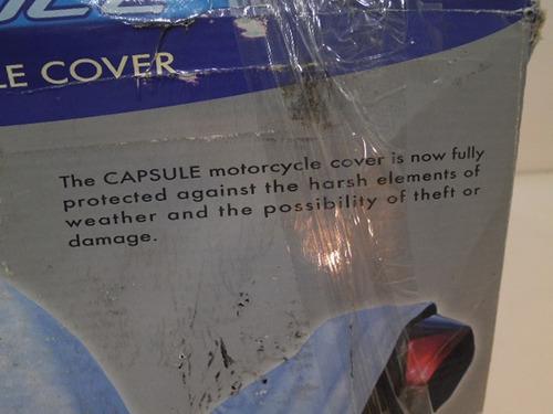 forro cubre motos motocicletas 1 piezas con zipper #154