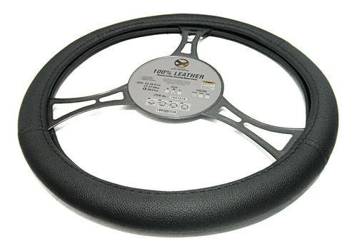 forro cubre volante semicuero especial negro m extreme
