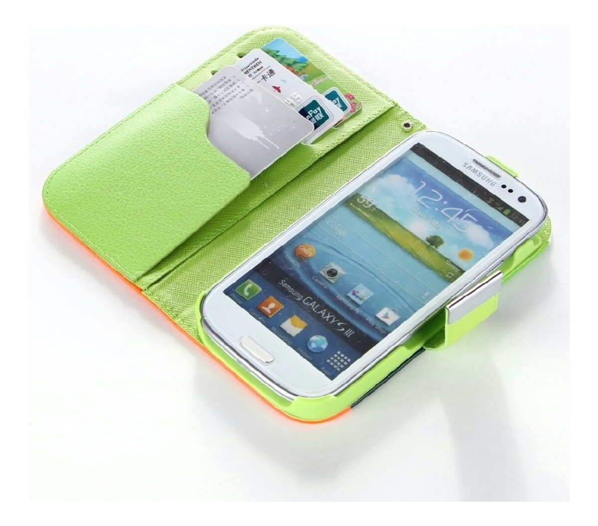 cd9c1e7a2be forro d cuero agenda samsung grand neo y grand duos + regalo. Cargando zoom.