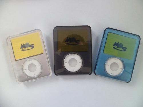 forro de acrilico para apple ipod nano 3ra generacion