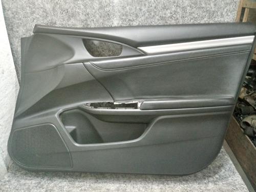 forro de porta dianteiro direito civic g10 2017 original