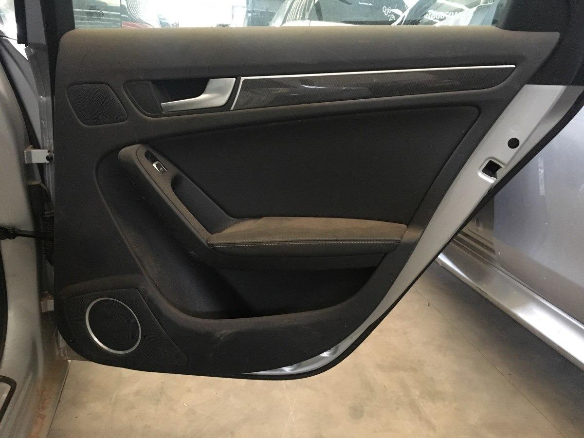 fbe82450baa Forro De Porta Traseiro Direito Audi S4 3.0 V6 2014 - R$ 400,00 em ...
