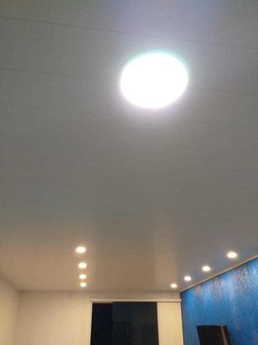 forro de pvc liso m² instalado/colocado sp c/ garantia