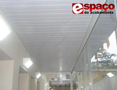 forro de pvc m² instalado/colocado sp com garantia 5 anos