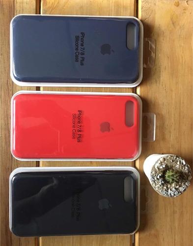 forro de silicon apple para iphone 7 plus iphone 8plus *12*