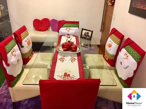 forro de silla navideños colección 2018