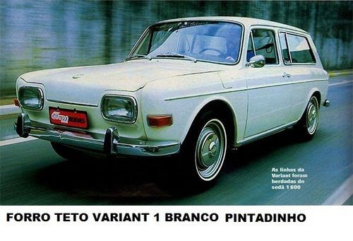 forro de teto padrão original vw variant 1 pintadinho