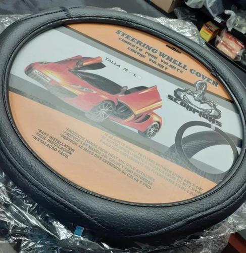 forro de volante premiun(semicuero) marca scorpions (leer)