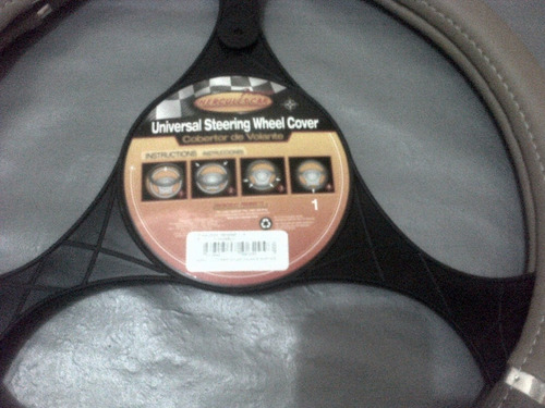 forro de volante universal para vehiculo