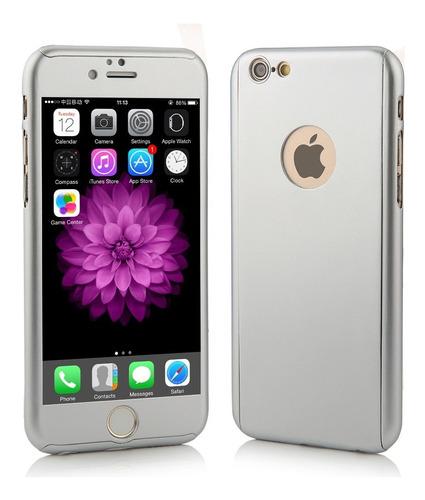 forro estuche 360 iphone se 6 6s plus / 7 plus  carcasa