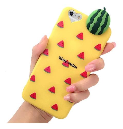 forro estuche frutas iphone 6 6 plus  7  7 plus / 8 8 plus