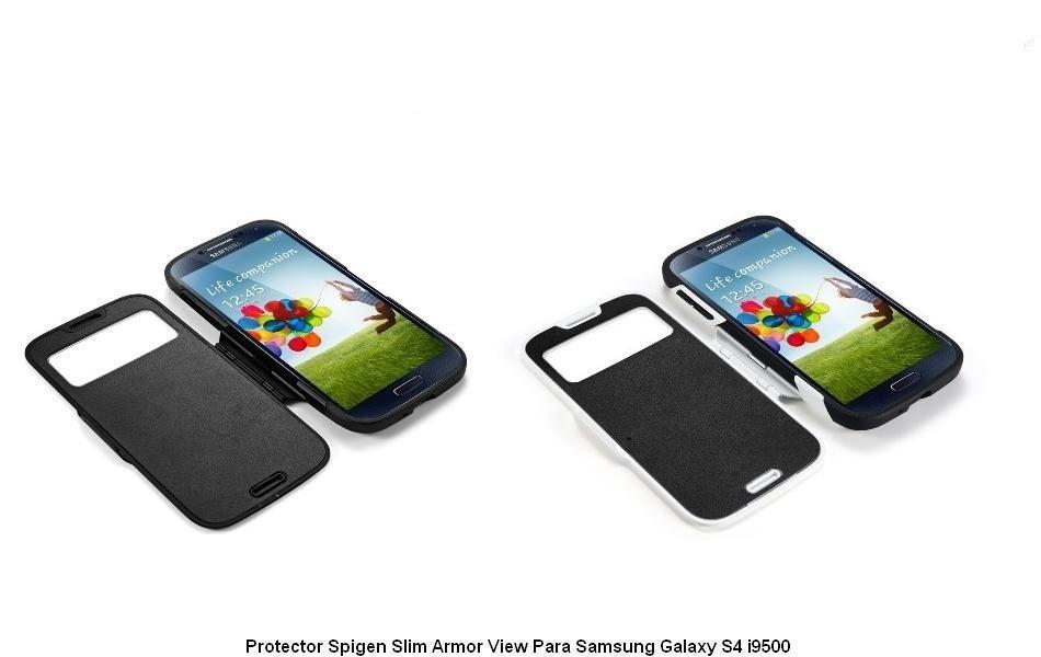 Forro Estuche Protector Slim Armor View Samsung Galaxy S4