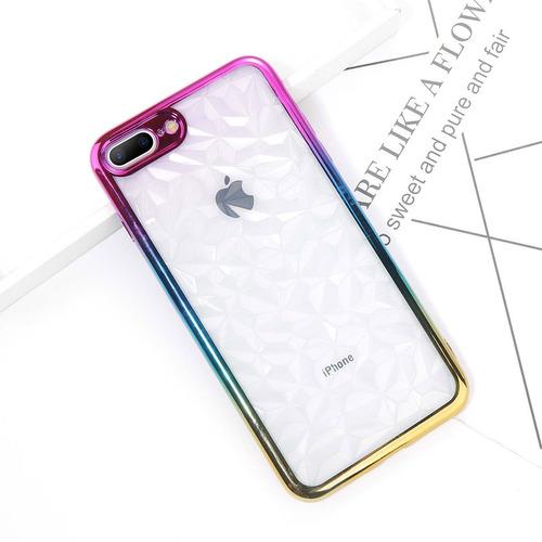 forro estuche rainbow iphone 7 7 plus 8 plus x xs xr xs max
