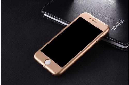 forro estuche tpu 360 iphone 8 / plus protector antishock