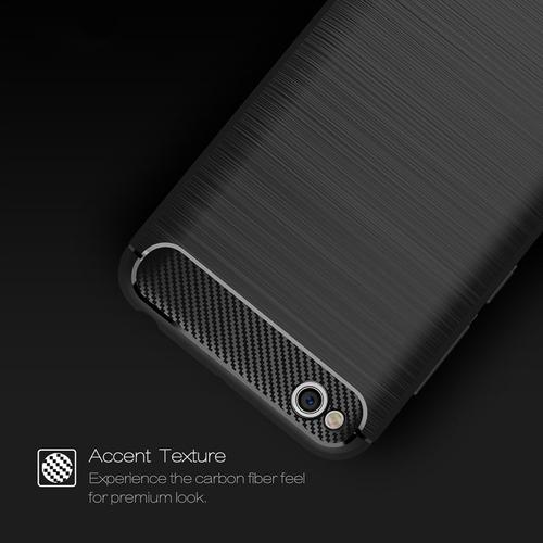 forro estuche xiaomi redmi 5a tpu carbon fiber capillado