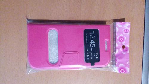forro flip cover samsung s3 mas protector de pantalla