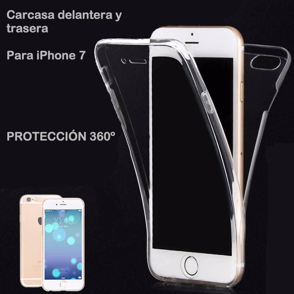 04c98b730d4 Forro Full Cover 360 iPhone 7 Transparente Envio Gratis - $ 20.000 en Mercado  Libre