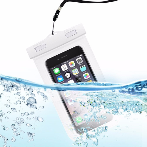 forro funda bolsa estuche celular sumergible en el agua
