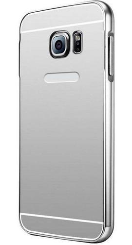 forro galaxy s7 edge protector aluminio espejo oferta 2x1