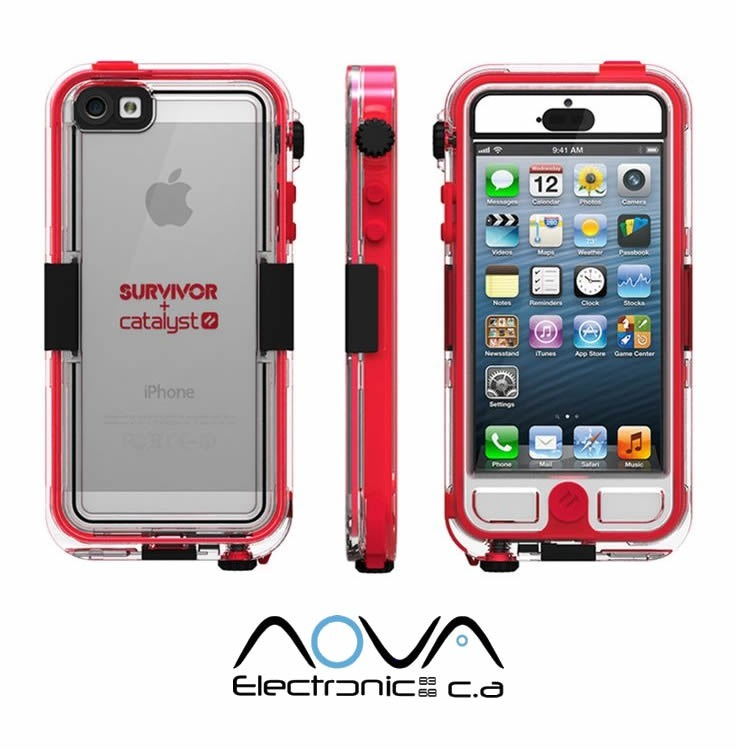 save off c75eb 77462 Forro Impermeable Griffin Survivor + Catalyst iPhone 5 / 5s