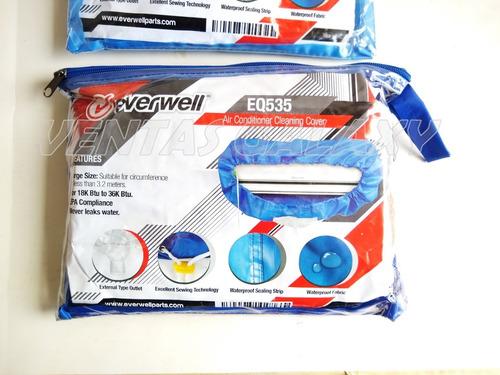 forro impermeable para lavar aires acond split de 18 a 36btu