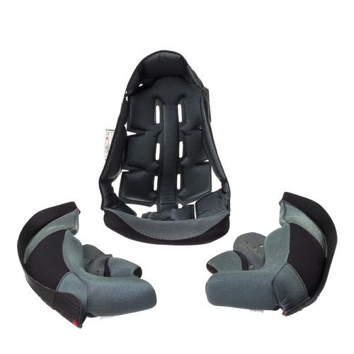 forro interno completo texx capacete mod. kids fechado skate